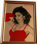 LIKE A VIRGIN - 1980's MIRROR (RED)